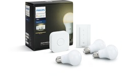 Philips Hue White Starter Pack + Dimmer