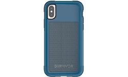 Griffin Survivor Fit Apple iPhone X Back Cover Blue
