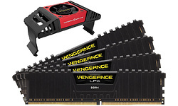 Corsair Vengeance LPX Black 32GB DDR4-4266 CL19 quad kit + Fan