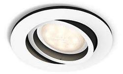 Philips Lighting Hue Milliskin GU10 5.5W Round White Incl. Dimmer