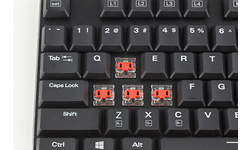 Sharkoon PureWriter TKL RGB Red (US)