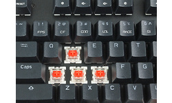 Motospeed CK101 RGB Black Red switches