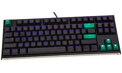 Ducky One 2 TKL Blue LED Double Shot PBT MX Brown (US)