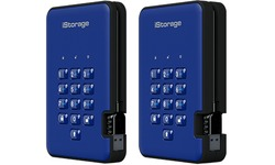 iStorage diskAshur 2 5TB Blue