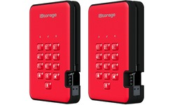 iStorage diskAshur 2 5TB Red