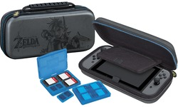 BigBen Nintendo Switch Travel Case Zelda Grey