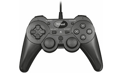 Trust Ziva Wired Gamepad for PC and PS3, Black