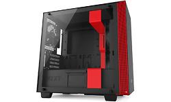 NZXT H400 Matte Black/Red