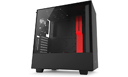 NZXT H500i Matte Black/Red
