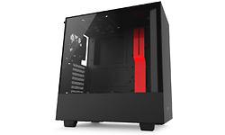 NZXT H500 Matte Black/Red