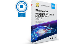 Bitdefender Internet Security 2018 5-user 1-year
