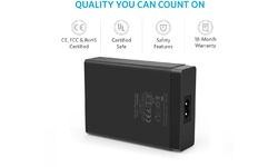 Anker PowerPort 6 Indoor Black