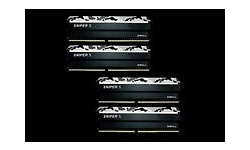 G.Skill Sniper X Black/White 64GB 64GB DDR4-3600 CL19 quad kit
