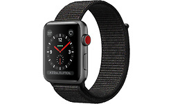 Apple Watch Series 3 4G 38mm Sport Loop Black/Space Grey