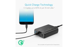 Anker PowerPort Speed 5 2x Quick Charge 3.0 Black