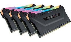 Corsair Vengeance RGB Pro Black 32GB DDR4-3000 CL15 quad kit