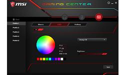MSI Vigor GK80 RGB MX Silver