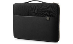 "HP 15.6"" Carry Sleeve Black/Gold"