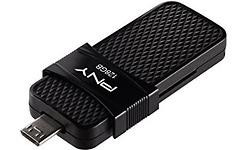 PNY Duo Link OTG 128GB Black