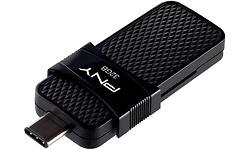 PNY Duo Link USB-C 32GB Black