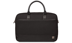 "Knomo Princeton 15.6"" Briefcase Black"