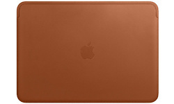 """Apple Leather Sleeve for 13"""" Saddle Brown"""
