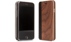Woodcessories EcoFlip Cover Walnut/Leather iPhone 6S