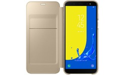 Samsung Galaxy J6 2018 Wallet Cover Gold