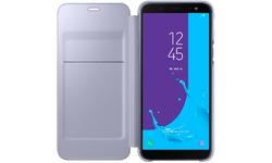 Samsung Galaxy J6 2018 Wallet Cover Purple