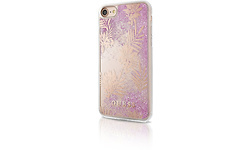 Guess Palm Spring Glitter Case Pink For iPhone 7/8