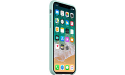Apple iPhone X Silicone Case Marine Green