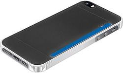 Muvit Crystal Card Black Back Case For Apple iPhone 5s/se