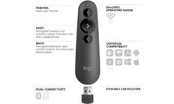 Logitech R500 Laser Presenter Grey