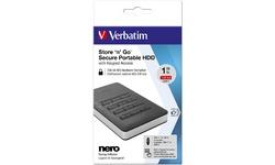 Verbatim Store 'n' Go Secure 1TB Black