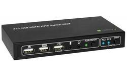 Techly IDATA-KVM-HDMI2U