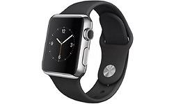 Apple Watch 38mm Black Sport Band Space Grey