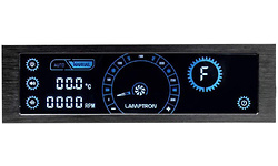 Lamptron CR430 LED/Fan Controller Black/Blue