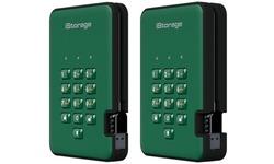 iStorage diskAshur 2 3TB Green