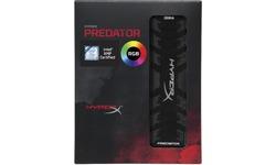 Kingston HyperX Predator RGB 8GB DDR4-3600 CL17
