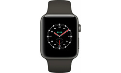 Apple Watch 3 38mm Grey Ceramic 4G Black/Grey Sport Band