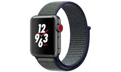 Apple Watch Nike+ 2017 GPS 4G 38mm Space Grey Sport Loop Midnight Fog