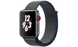 Apple Watch Nike+ 2017 GPS 4G 42mm Space Grey Sport Loop Midnight Fog