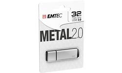Emtec C900 Metal 2.0 32GB Silver
