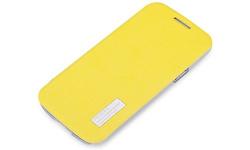 Röck Elegant Side Flip Case Lemmon Yellow Samsung Galaxy S4 Mini I9195
