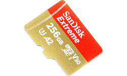 Sandisk Extreme MicroSDXC UHS-I U3 256GB + Adapter