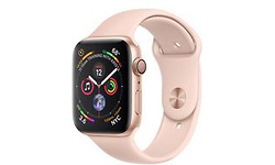 Apple Watch Series 4 44mm Gold Sport Band Pink Sand