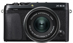 Fujifilm X-E3 15-45 kit Black
