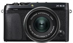 Fujifilm X-E3 15-45 kit Black