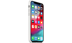 Apple iPhone Xs Silicone Case White