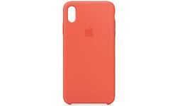 Apple iPhone Xs Max Silicone Case Nectarine